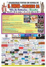 Programa de Festas de S.Pedro 2011