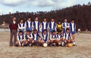 Equipa Época 81/82 Júniores