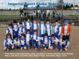 Equipa escolas 2009/2010